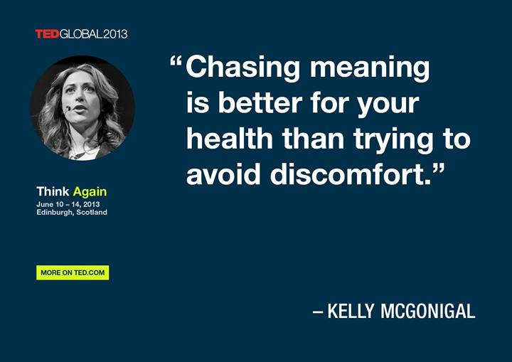 Chasing meaning is better for your health than trying to avoid discomfort